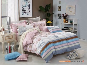 China Tencel materieller Luxusentwurfs-reagierender Druck König-Size Home Bedding Sets fournisseur