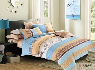 China König Size Cotton Bedding Sets, Daybed-Bettwäsche-Doppelbett-Blatt-Sätze fournisseur